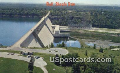 Bull Shoals Dam - Forsyth, Missouri MO Postcard