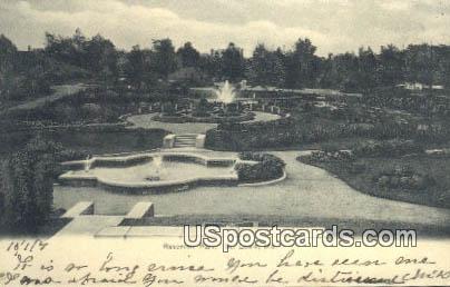 Reservoir Park - St. Louis, Missouri MO Postcard