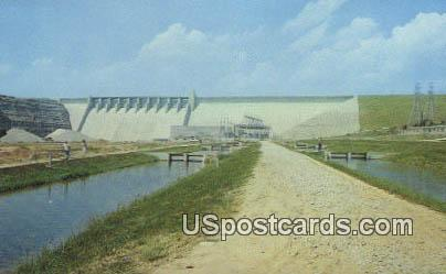 Table Rock Dam & State Fish Hatcheries - Branson, Missouri MO Postcard