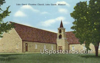 Lake Ozark Christian Church - Missouri MO Postcard