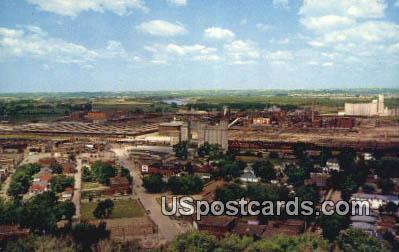 King Hill - St. Joseph, Missouri MO Postcard