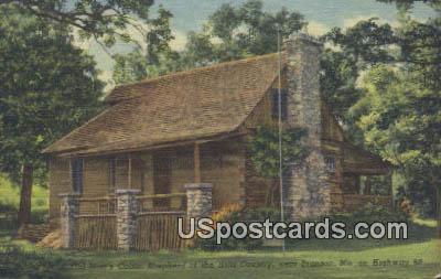 Old Matt's Cabin, Shepherd of the Hills Country - Branson, Missouri MO Postcard