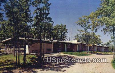 Indian Point Lodge - Branson, Missouri MO Postcard