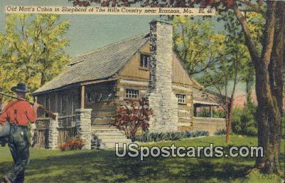 Shepherd of the Hills Country - Branson, Missouri MO Postcard