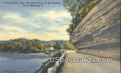 US Highway 71 - Noel, Missouri MO Postcard