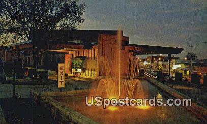 Peoples Motor Bank - Branson, Missouri MO Postcard