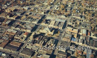 Uptown Business District - Independence, Missouri MO Postcard
