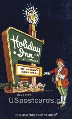 Holiday Inn - Columbia, Missouri MO Postcard