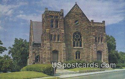 Stone Church, River & Lexington - Independence, Missouri MO Postcard