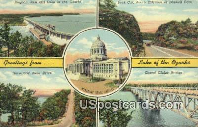 State Capitol - Lake of the Ozarks, Missouri MO Postcard