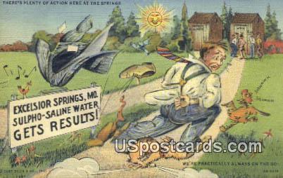 Excelsior Springs, MO Postcard     ;          Excelsior Springs, Missouri