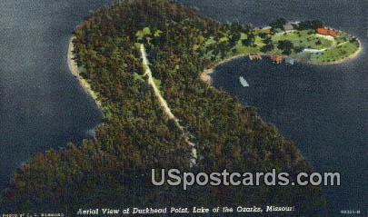Duckhead Point - Lake of the Ozarks, Missouri MO Postcard