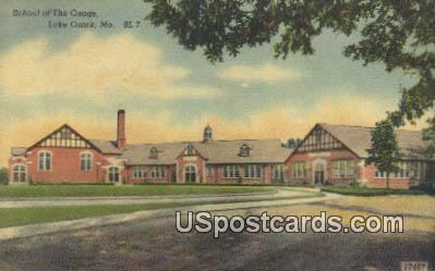 School of the Osage - Lake of the Ozarks, Missouri MO Postcard
