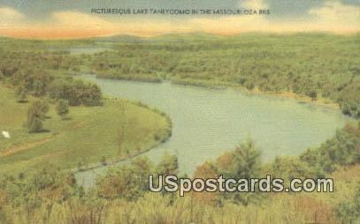 Lake Taneycomo - Ozarks, Missouri MO Postcard