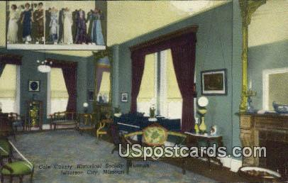 Cole County Historical Society Museum - Jefferson City, Missouri MO Postcard