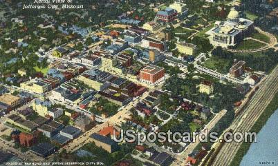 Jefferson City, Missouri Postcard     ;     Jefferson City, MO