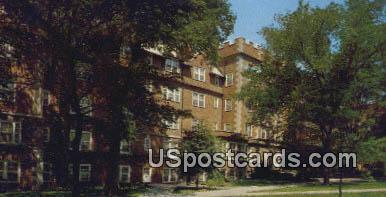 Roblee Hall, Stephens College - Columbia, Missouri MO Postcard