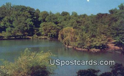 Krug Park Lagoon - St. Joseph, Missouri MO Postcard