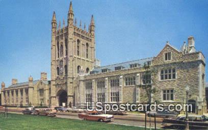 Student Memorial Union, University of Missouri - Columbia Postcard
