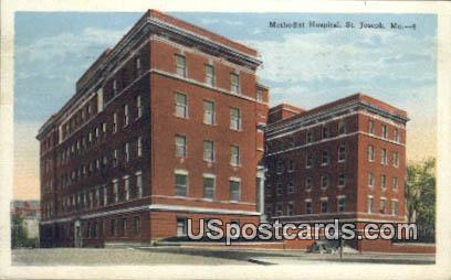 Methodist Hospital - St. Joseph, Missouri MO Postcard