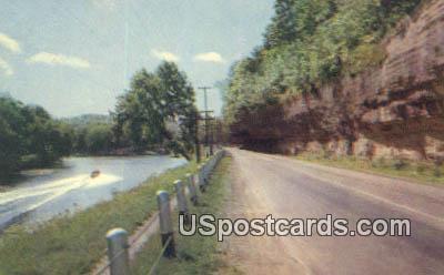 Scenic US 71 - Noel, Missouri MO Postcard