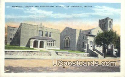 Methodist Church & Educational Buildings - Cape Girardeau, Missouri MO Postcard