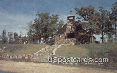 Our Lady of The Lake Chapel - Lake of the Ozarks, Missouri MO Postcard