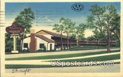 Monterey Motel - Excelsior Springs, Missouri MO Postcard