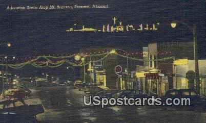 Mt Branson - Missouri MO Postcard