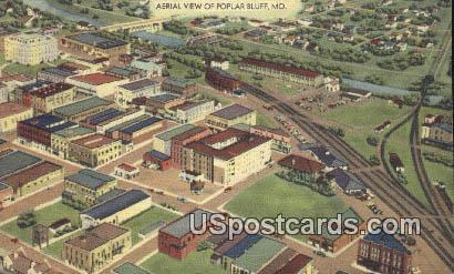 Poplar Bluff, MO Postcard     ;          Poplar Bluff, Missouri
