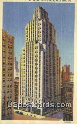 Bryant Building - Kansas City, Missouri MO Postcard