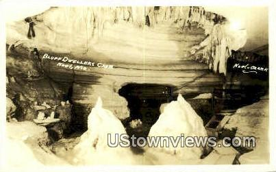 Real Photo - Bluff Dweller's Cave - Noel, Missouri MO Postcard