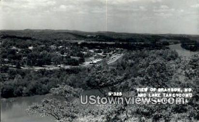 Real Photo - Lake Taneycomo - Branson, Missouri MO Postcard
