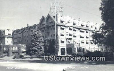 Real Photo - The Elms Hotel - Excelsior Springs, Missouri MO Postcard