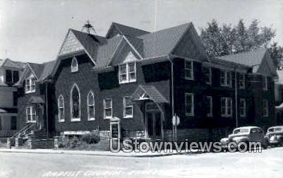 Real Photo - Baptist Church - Excelsior Springs, Missouri MO Postcard