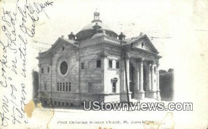 First Christian Science Church - St. Joseph, Missouri MO Postcard