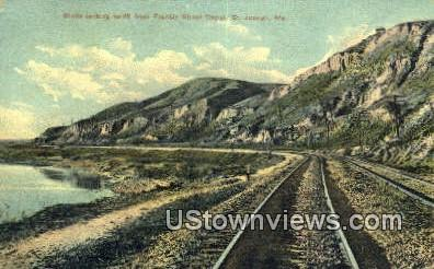 Francis Street Depot - St. Joseph, Missouri MO Postcard