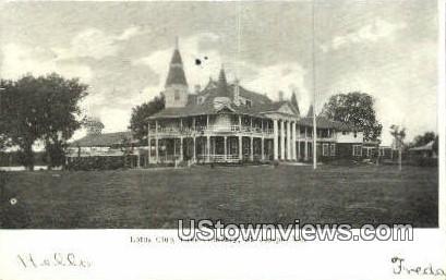 Lotus Club, Lake Contrary - St. Joseph, Missouri MO Postcard
