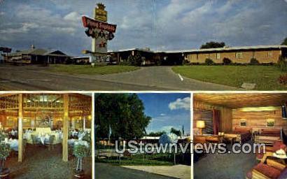 Express Motel & Restaurant - St. Joseph, Missouri MO Postcard