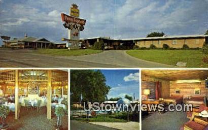 Pony Express Motor Inn - St. Joseph, Missouri MO Postcard