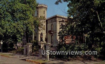 St. Joseph Museum - Missouri MO Postcard