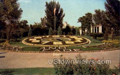 Korean War memorial - St. Louis, Missouri MO Postcard