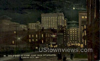 10th St. - Kansas City, Missouri MO Postcard