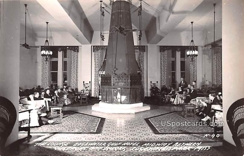 The Lounge - Edgewater Park, Mississippi MS Postcard