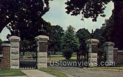 Corinth National Cemetary - Mississippi MS Postcard