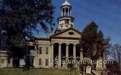 Old Warren County Court House  - Vicksburg, Mississippi MS Postcard
