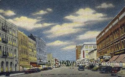 Fifth Street  - Meridian, Mississippi MS Postcard