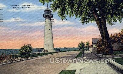 Historic Lighthouse - Biloxi, Mississippi MS Postcard