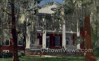 Gloucester House - Natchez, Mississippi MS Postcard