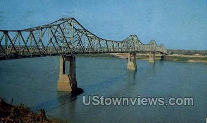 Natchez Vidalia Bridge - Mississippi MS Postcard